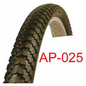 Велосипедная покрышка черная 26х2.125 «Таиланд» (АР-025)