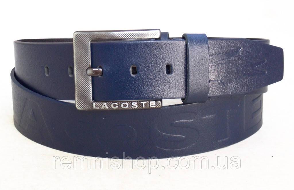Мужской кожаный ремень Lacoste - Интернет-магазин