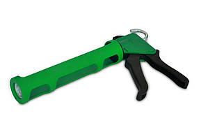 Пистолет для герметика, полуоткрытый, пластмассовый, Favorit (12-018) шт.