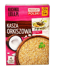 Крупа Kuchnia lidla  Kasza Orkiszowa  4*100 g