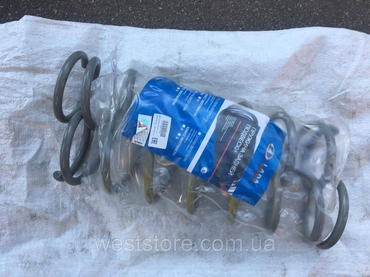 Пружины задней подвески Ваз 2101 2103 2105 2106 2107 ВАЗ (к-кт 2шт) желтая метка