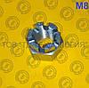 Гайки шестигранні корончаті прорізні ГОСТ 5918-70, DIN 935. М8