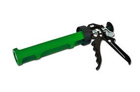 Пистолет для герметика пластмассовый полуоткрытый, металлическая ручка, Favorit (12-021) шт.