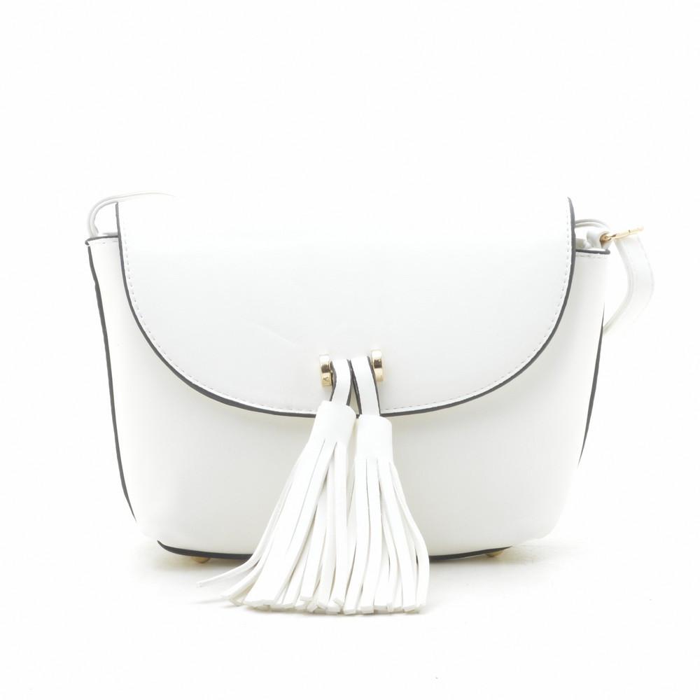 6e4df1cec982 Сумка кросс-боди LoveDream белая - Kit Bag - женские сумки, кошельки и  клатчи