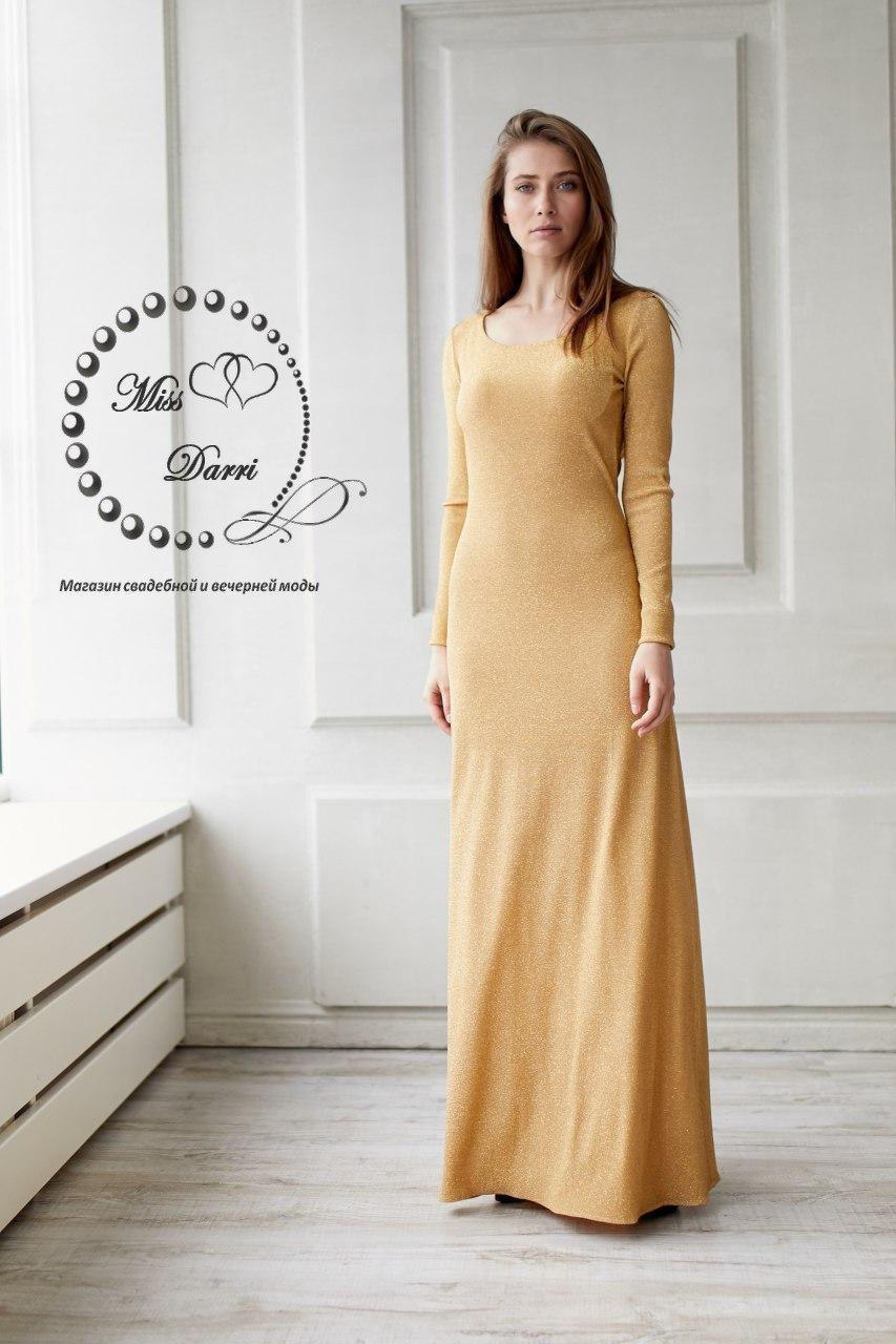 cb8ddf0d387 Вечернее платье выпускное с открытой спиной золотое  продажа