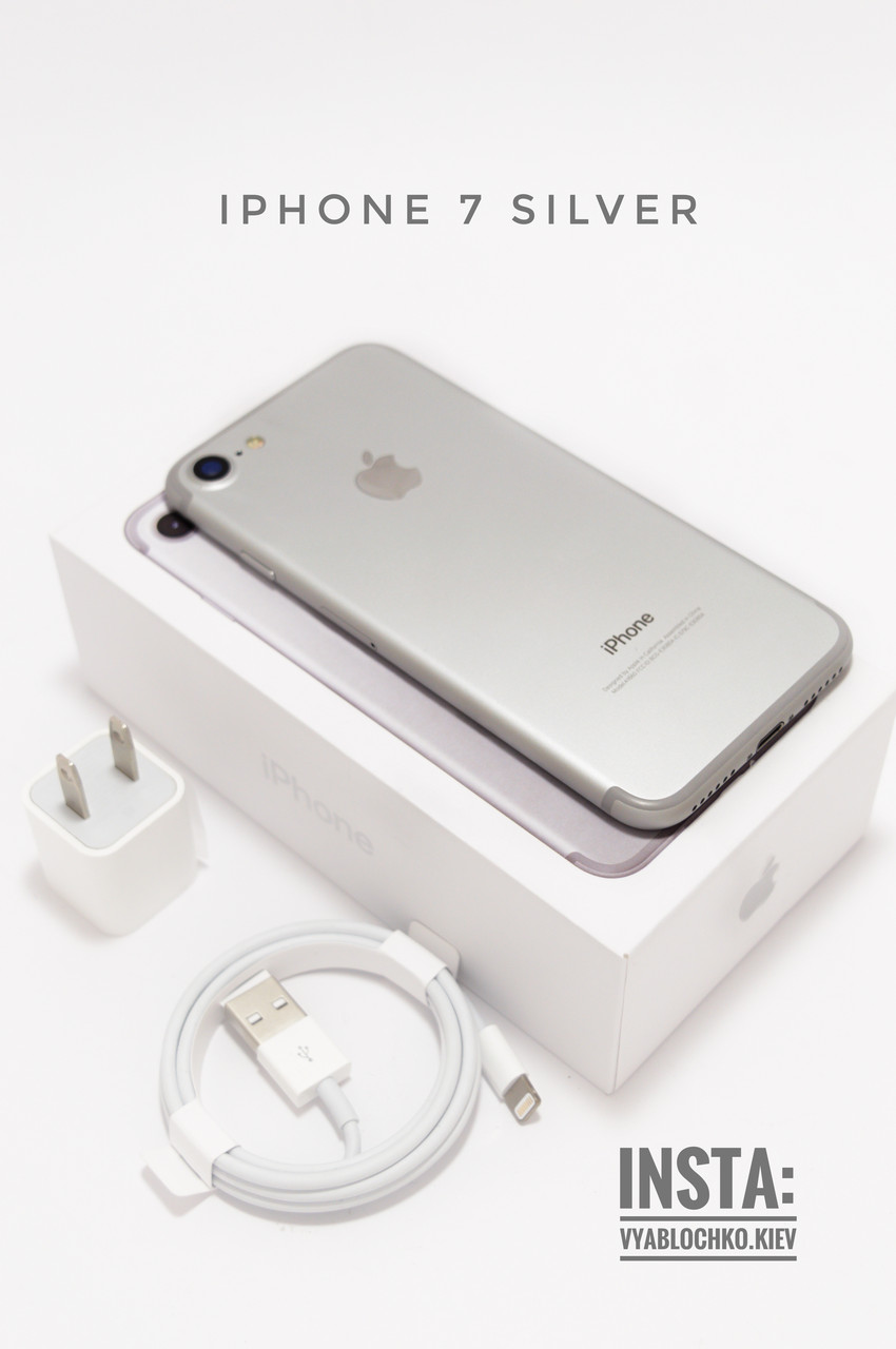 Apple iPhone 7 32Gb Silver (Б/у)