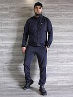 Спортивный костюм мужской Nike серый Турция реплика