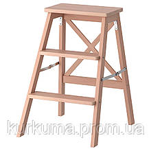 IKEA BEKVAM Табурет-лестница, бук  (901.904.11)