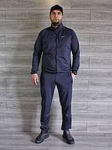 Спортивный костюм мужской Nike серый Турция реплика, фото 2
