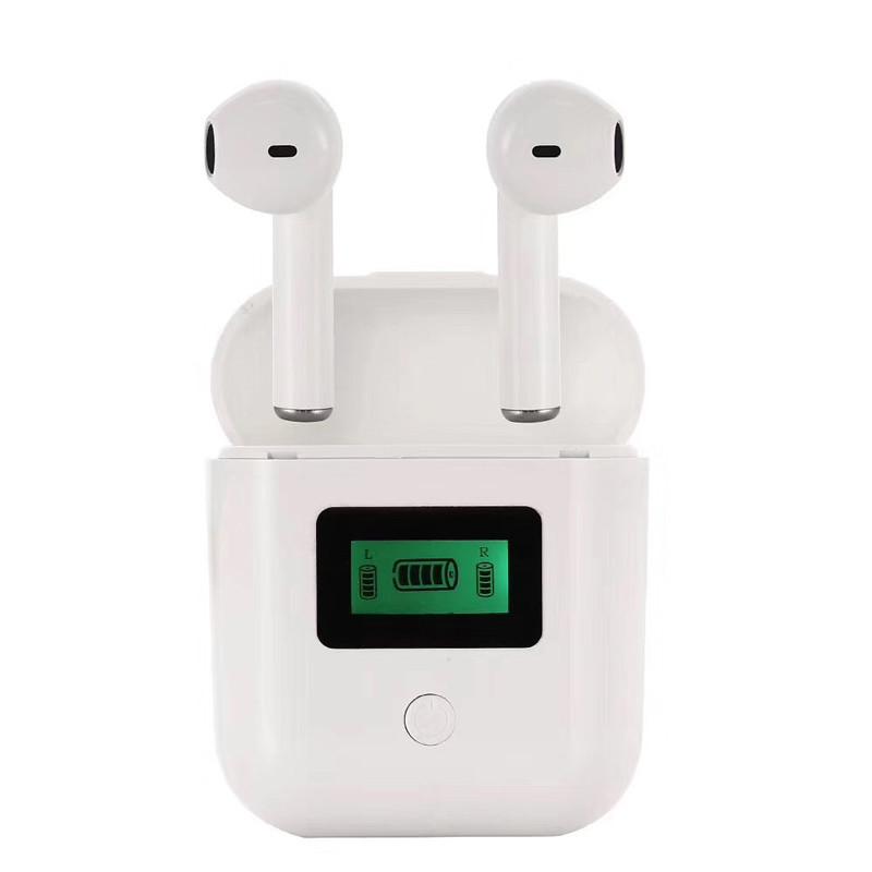 Беспроводные Bluetooth наушники tws iT007 с дисплеем магнитный кейс