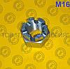 Гайки шестигранные корончатые прорезные ГОСТ 5918-70, DIN 935. М16