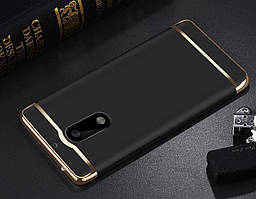 Чехол с золотыми вставками для Nokia 6 (2 Цвета)