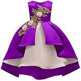 Платье бальное праздничное для девочки , фото 4