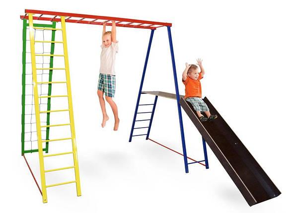 Детский спортивный комплекс, игровая площадка для детей Disney 145/127/130, фото 2