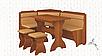Кухонный уголок плюс стол с табуретами Кардинал Пехотин, фото 6