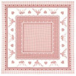 Скатерти хлопковые квадратные 144х144