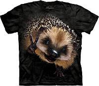 3D футболка The Mountain -  Peace Hedgehog