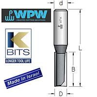Фреза пазовая двухзубая D10 B25 d12 K-BITS P241002K, фото 1