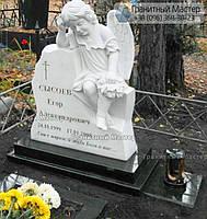 Детский памятник с ангелом № 1