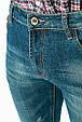 Джинсы мужские в стиле Casual 350V001 (Темно-синий), фото 7