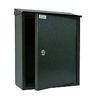 Ящик почтовый РВ-02 Ferocon, 29,5х38,5х11 см. серый , фото 1