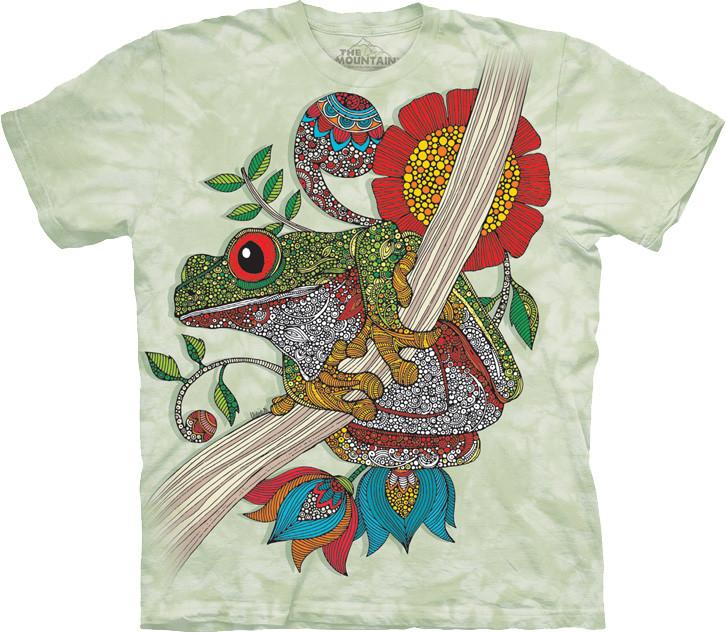 3D футболка The Mountain -  Phileus Frog