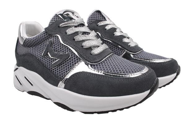 Туфли спорт Li Fexpert натуральная замша, цвет серый (38р.)
