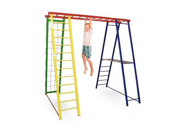 Детский спортивный комплекс, игровая площадка для детей Sport Baby с тумбой 200/150/200, фото 2