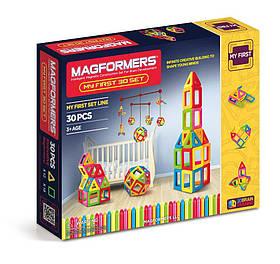 Магнитный конструктор Мой первый набор Magformers My First 30 Set (702001)