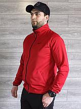 Спортивный костюм мужской Nike красный, черный Турция реплика, фото 3