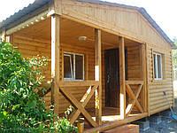 Дачный домик, каркасный, деревянный