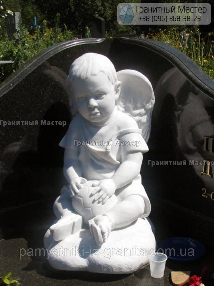 Детский памятник с ангелом № 5