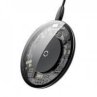 Беспроводное зарядное устройство Baseus Simple Wireless Charger, Transparent (CCALL-AJK01)