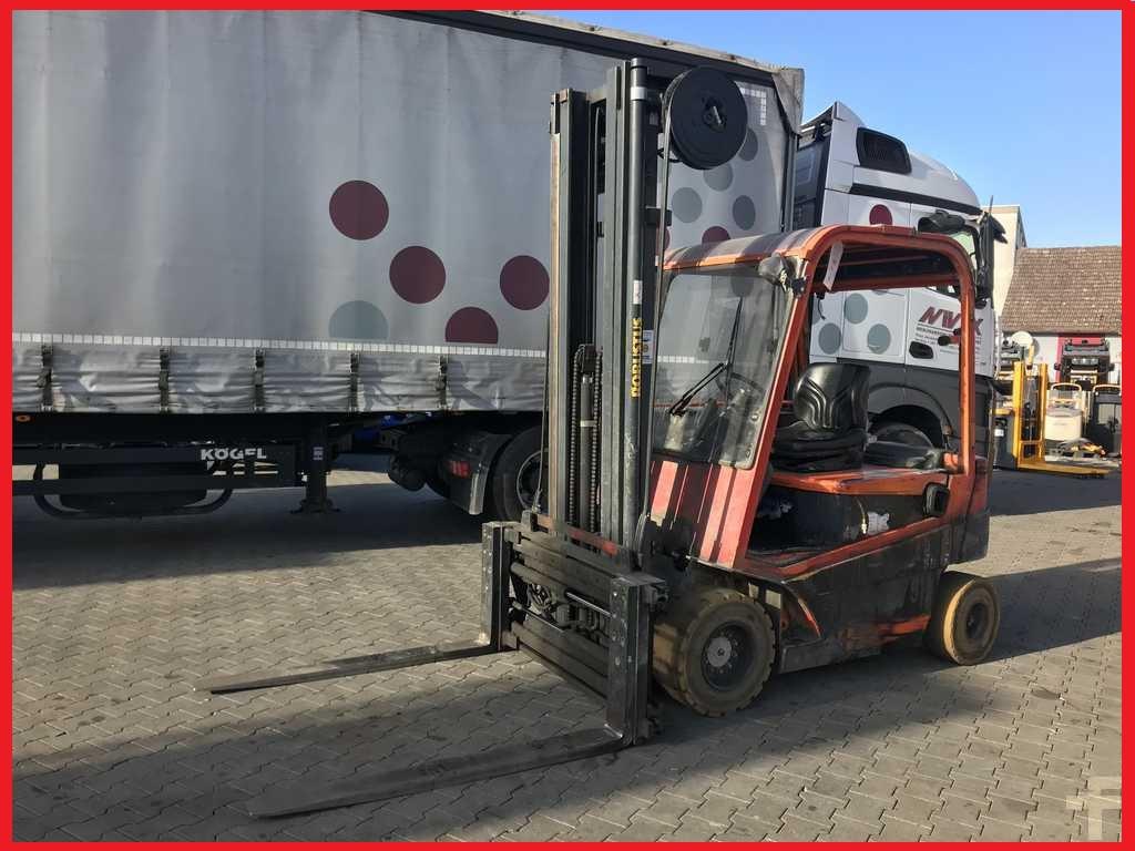 Навантажувач вилковий Detas SE432 з батареєю 2011 року, 3200 кг!