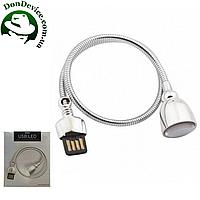 Настольная USB LED лампа Remax Hose Lamp, белая