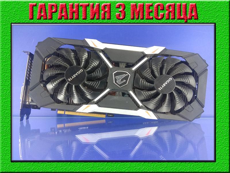 Видеокарта PCI-E NVIDIA GIGABYTE Extreme Gaming  AORUS GTX1060 (6GB/GDDR5/256bit) GV-N1060XTREME-6GD БУ