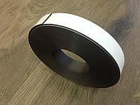 Магнитный винил с клеевым слоем. Рулон. 25х1,5мм 10,5 метров