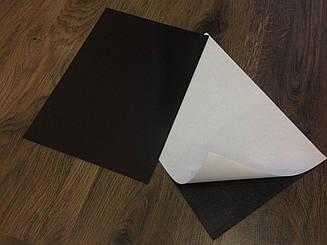 Магнитный винил с клеем в листах. Размер А4 0.9мм