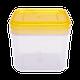 Емкость для сыпучих продуктов Алеана 1,3л, фото 6