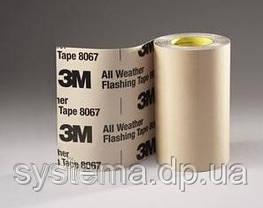 3M Flexible Air Sealing Tape 8777 - Эластичная герметизирующая лента 100,0х0,13 мм 50/50, рулон 23 м, фото 3