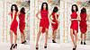 """Облегающее асимметричное мини-платье """"I GOT IT"""" с принтом и драпировкой (2 цвета), фото 6"""