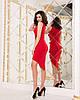 """Облегающее асимметричное мини-платье """"I GOT IT"""" с принтом и драпировкой (2 цвета), фото 4"""