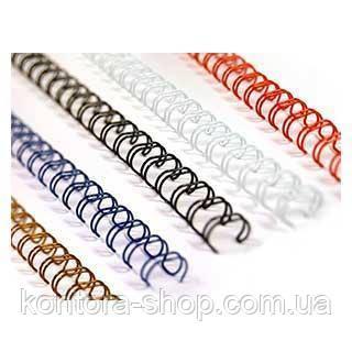Пружины металлические 6,3 мм черные (100 штук)