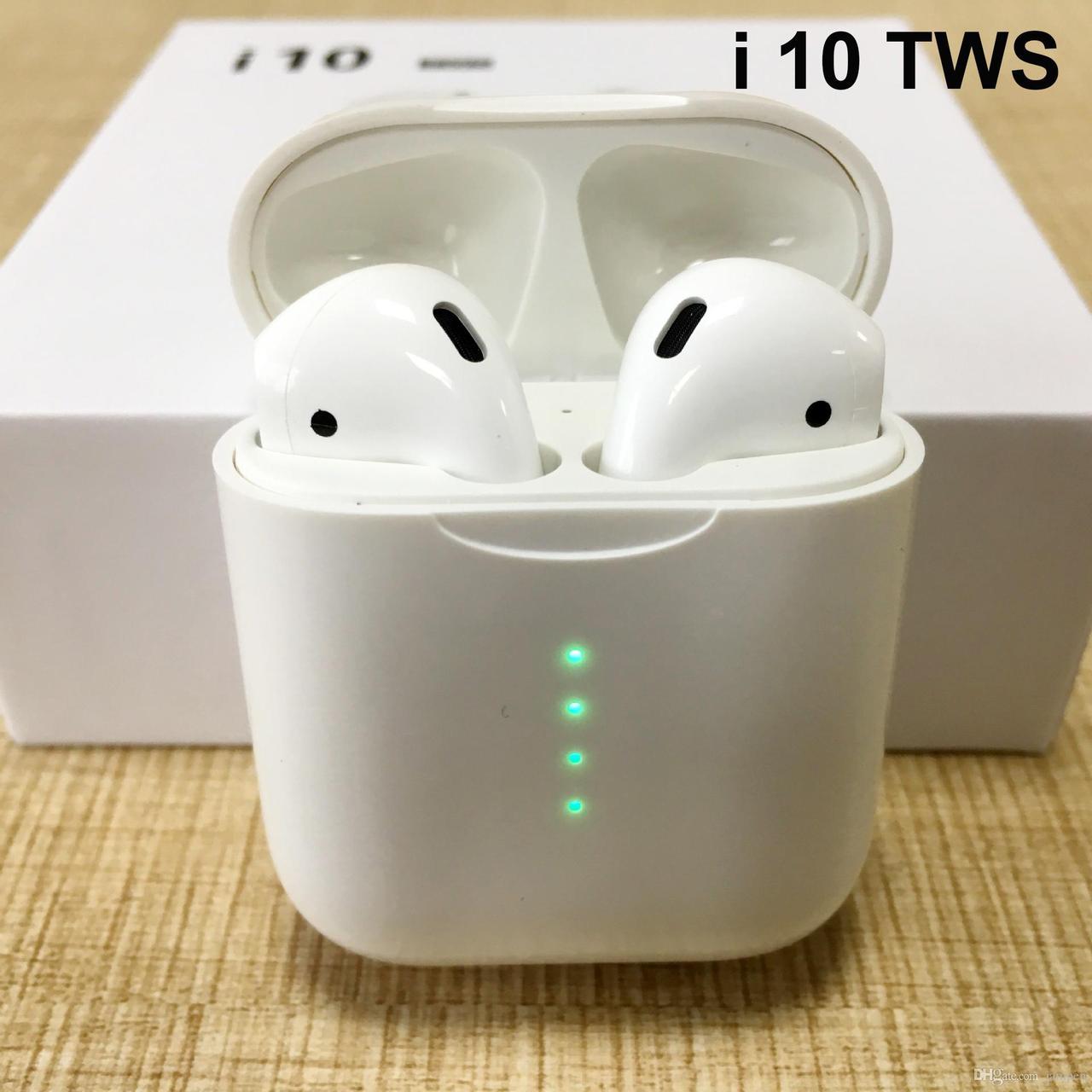 Наушники гарнитура TWS i10 true wireless