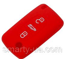 Силиконовый чехол на ключ 3 кнопки Citroen C1 C2 C3 C4 C5 C6 C8