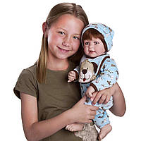 Adora Toddler Little Lovey Кукла малыш в комбинезоне Адора мальчик 50см, фото 1