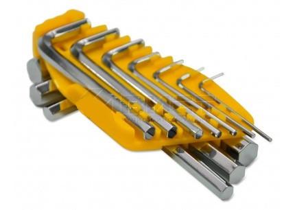 Набор ключей 49-110 имбусовых 10шт (1,5-10мм) Technics