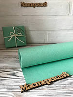 Бумага крафт мятная декоративная для упаковки 70см/10м