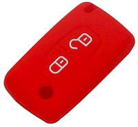 Силиконовые чехлы на ключ  peugeot 208 207 308 RCZ 408 407 307 206 , фото 1