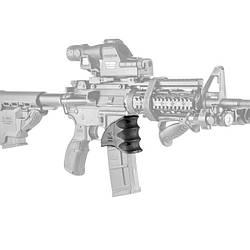 Накладка FAB Defense на шахту магазина AR15/M16